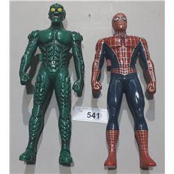 SPIDERMAN AND GREEN GOBLIN WALKIE TALKIE SET