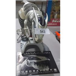 WOWWEE ROBORAPTOR ROBOT WITH CONTROLLER AND MANUAL