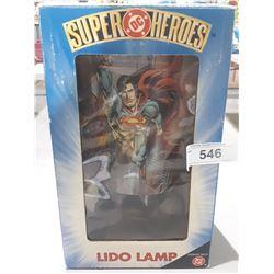 NEW IN BOX DC SUPERHEROES LIDO LAMP