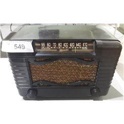 VINTAGE MARCONI RADIO IN BAKELITE CASE