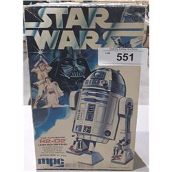 VINTAGE 1977 MPC STAR WARS R2D2 MODEL KIT