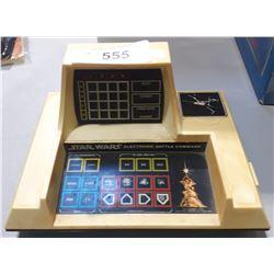 VINTAGE 1977 STAR WARS ELECTRONIC BATTLE COMMAND