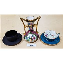 THREE PIECES COLLECTIBLE CHINA