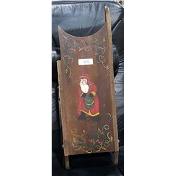ANTIQUE HAND PAINTED SLED