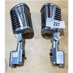 TWO VINTAGE 77A MICROPHONES