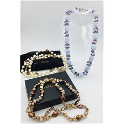QVC BEADED AND PEARL LOT