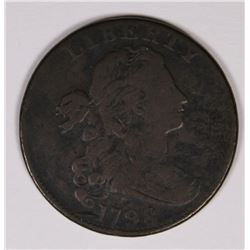 1798 LARGE CENT, FINE NICE CHOCOLATE BROWN