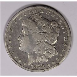 1878-CC MORGAN DOLLAR, FINE, SCARCE!