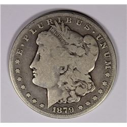 1879-CC MORGAN DOLLAR, VG, KEY COIN!