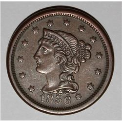 1836 LARGE CENT XF