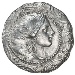 AMPHIPOLIS: ca. 158-149 BC, AR tetradrachm (16.79g). VF-EF
