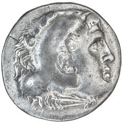 ASPENDOS: ca. 200 BC, AR tetradrachm (16.42g), year 22 (unknown era). VF