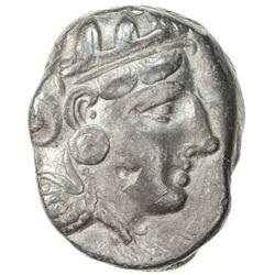 ATHENS: ca. 393-300 BC, AR tetradrachm (16.95g). VF