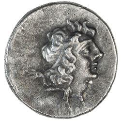 CAPPADOCIAN KINGDOM: Ariarathes IX Eusebes Philapator, 101-87 BC, AR drachm (4.02g), year 5. VF