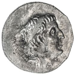 CAPPADOCIAN KINGDOM: Ariarathes IX Eusebes Philapator, 101-87 BC, AR drachm (4.02g), year 5. VF-EF