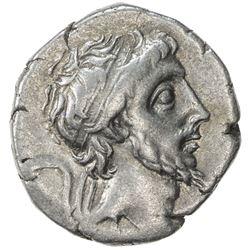 CAPPADOCIAN KINGDOM: Ariobarzanes III Philoromaios, 52-42 BC, AR drachm (3.96g), uncertain date. VF
