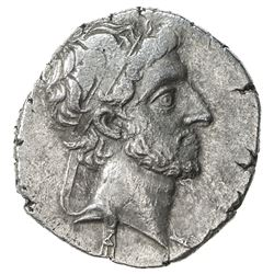 CAPPADOCIAN KINGDOM: Ariarathes X Eusebes Philapator, 42-36 BC, AR drachm (3.81g), year 5. VF