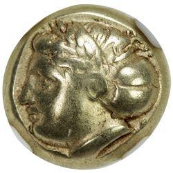 IONIA: Phocaea, ca. 387-326 BC, EL hecte (1/6 stater) (2.53g). NGC EF