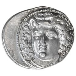 LARISSA: ca. 350-325 BC, AR drachm (6.07g). VF