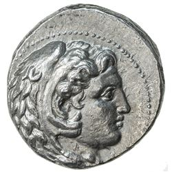 MACEDONIAN KINGDOM: Alexander III, the Great, 336-323 BC, AR tetradrachm (16.98g), Babylon. EF