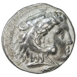 MACEDONIAN KINGDOM: Alexander III, the Great, 336-323 BC, AR tetradrachm (16.81g), Memphis. VF