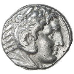 MACEDONIAN KINGDOM: Alexander III, the Great, 336-323 BC, AR tetradrachm (17.16g), Pella. F-VF