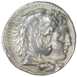 MACEDONIAN KINGDOM: Philip III, 323-317 BC, AR tetradrachm (16.95g), Babylon. VF