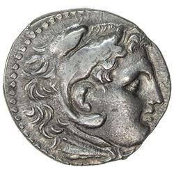 MACEDONIAN KINGDOM: Alexander III, the Great, late issue, ca. 180 BC, AR tetradrachm (17.04g), Pella
