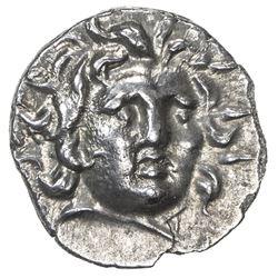 RHODES: Anonymous, ca. 125-88 BC, AR hemidrachm (1.28g). EF