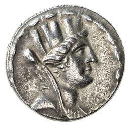 SELEUKEIA: AR tetradrachm (14.54g), year 12 (98/97 BC). EF