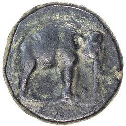 SELEUKID KINGDOM: Seleukos I Nikator, 312-280 BC, AE 19mm (8.57g), Apamea. VF