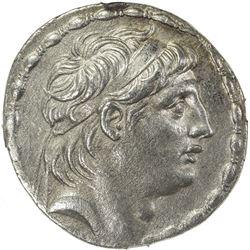 SELEUKID KINGDOM: Antiochos VII Euergetes, 138-129 BC, AR tetradrachm (16.72g). NGC AU