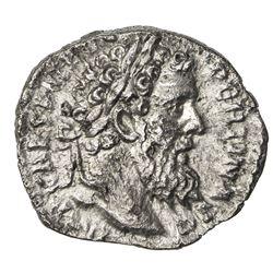 ROMAN EMPIRE: Pertinax, 193-193 AD, AR denarius (2.51g), Rome. VF