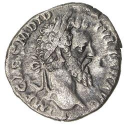 ROMAN EMPIRE: Didius Julianus, 193 AD, AR denarius (2.41g), Rome. VF