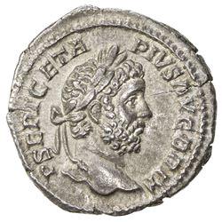 ROMAN EMPIRE: Geta, 209-212 AD, AR denarius (2.86g), Rome (210). EF