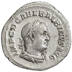 ROMAN EMPIRE: Balbinus, 238 AD, AR denarius (2.47g), Rome. VF