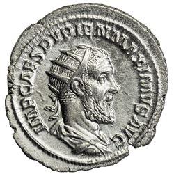 ROMAN EMPIRE: Pupienus, 238 AD, AR antoninianus (4.53g), Rome. EF
