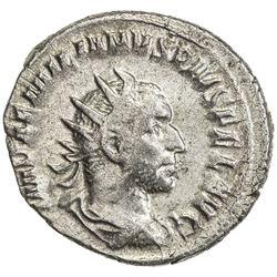 ROMAN EMPIRE: Aemilian, 253 AD, AR antoninianus (3.43g), Rome. VF