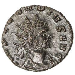 ROMAN EMPIRE: Claudius Gothicus, 268-270 AD, BI antoninianus (3.59g), Rome (268/269). EF-AU