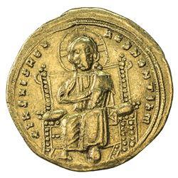 BYZANTINE EMPIRE: Romanus III Argyrus, 1028-1034, AV Histamenon (4.37g), Constantinople. VF