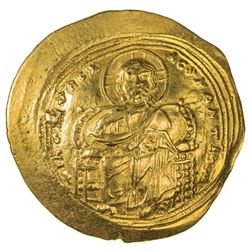 BYZANTINE EMPIRE: Constantine IX, 1042-1055, AV histamenon nomisma (4.36g), Constantinople. EF