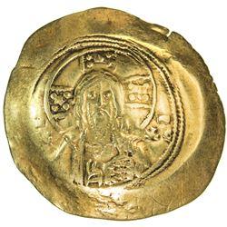 BYZANTINE EMPIRE: Michael VII Ducas, 1071-1078, AV histamenon trachy (4.36g), Constantinople. VF