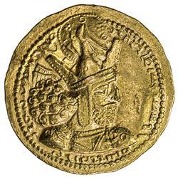 SASANIAN KINGDOM: Shapur I, 242-271, AV dinar (7.31g). EF