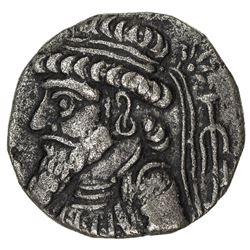 ELYMAIS: Kamnaskires V, 54/3-33/2 BC, AE tetradrachm (15.17g). EF