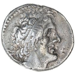 PTOLEMAIS: Ptolemy II, 285-246 BC, AR tetradrachm (14.13g), Tyre. VF