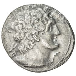 PTOLEMAIS: Ptolemy IX Sotor, 116-106 and 88-80 BC, AR tetradrachm (13.37g), Paphos, year 2. VF