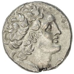 PTOLEMAIS: Ptolemy XII Neos Dionysos, 116-106 and 88-80 BC, AR tetradrachm (13.78g), year 15. VF-EF