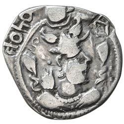 SOGDIANA: Khono, late 5th C, AR drachm (2.87g), Chaghan