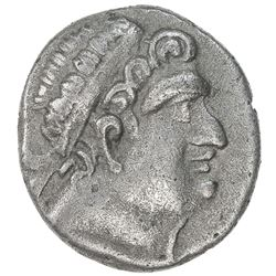 BUKHARA: Euthydemos imitation, ca. 2nd-1st century BC, AR tetradrachm (8.27g). VF