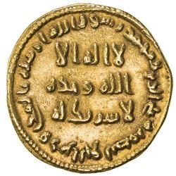 UMAYYAD: 'Abd al-Malik, 685-705, AV dinar (4.27g), NM (Dimashq), AH78. VF-EF